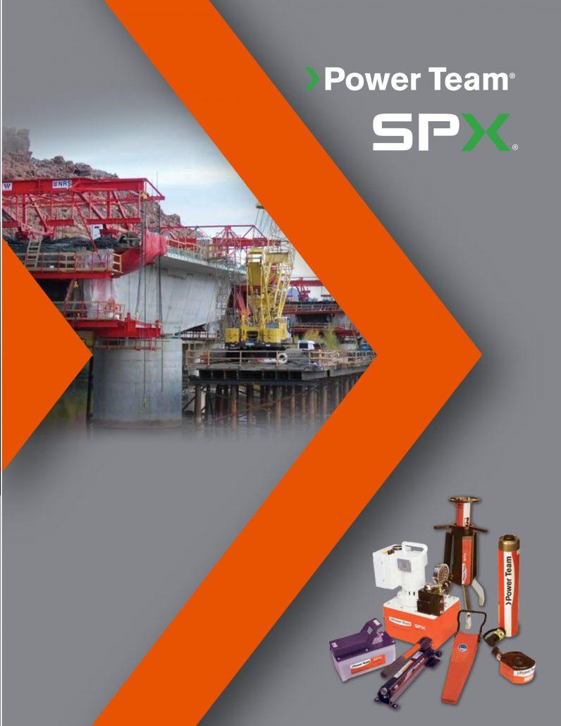 SPX FLOW Power Team – PT1403B Catalog