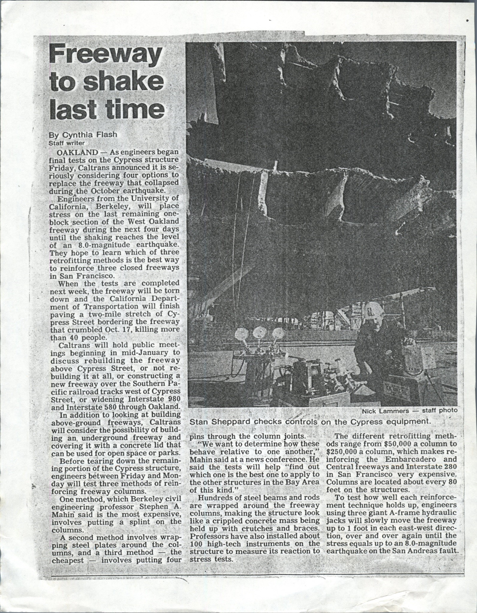 EARTHQUAKE ARTICLE