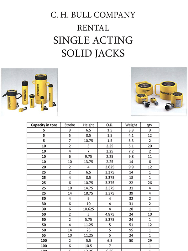 single-acting-solid-jacks